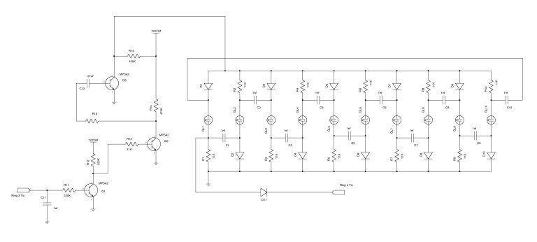 nixieneon nixie tube clock schematics